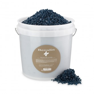Berodin® Blue Hard Wax 10 lb Bucket O Beads-0